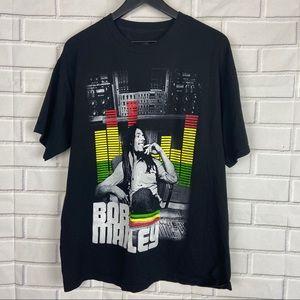 Zion Bob Marley music unisex graphic tee XL